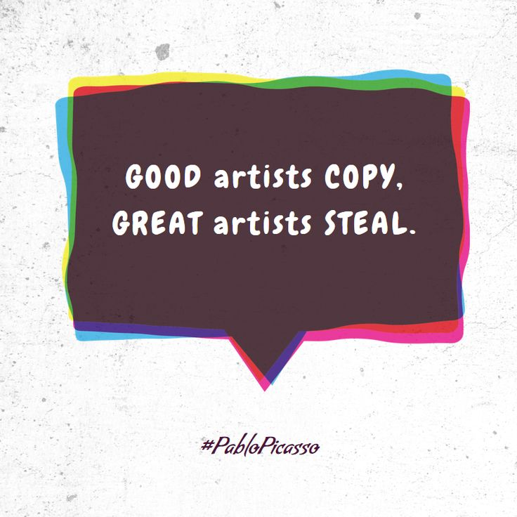 Good Artist ... - fully editable poster