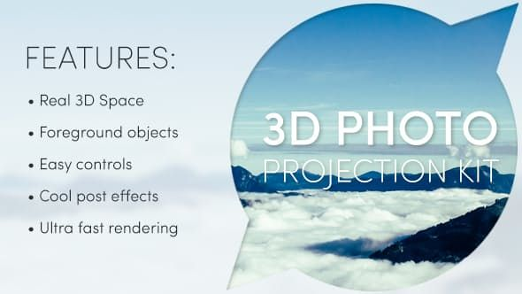 Photo Projection Kit Videohive Photo After Effects Projects