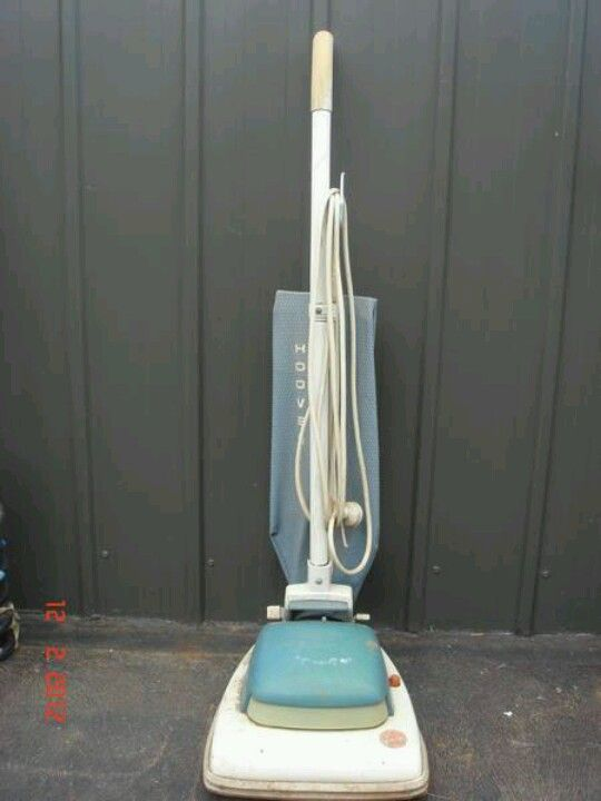 The vacuum that everybody had - mine was brown and it lasted well into the 1980's.  Thank you Hoover!