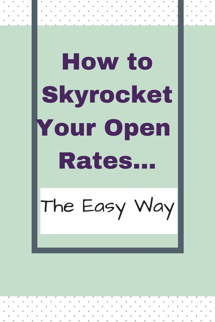 How To Get Better Open Rates With Email Preheaders Aweber Open Rate How To Get Better Email Marketing