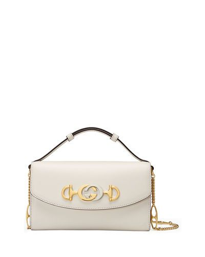 273044d8d Zumi Smooth Leather Shoulder Bag in 2019 | gucci handbags | Gucci ...