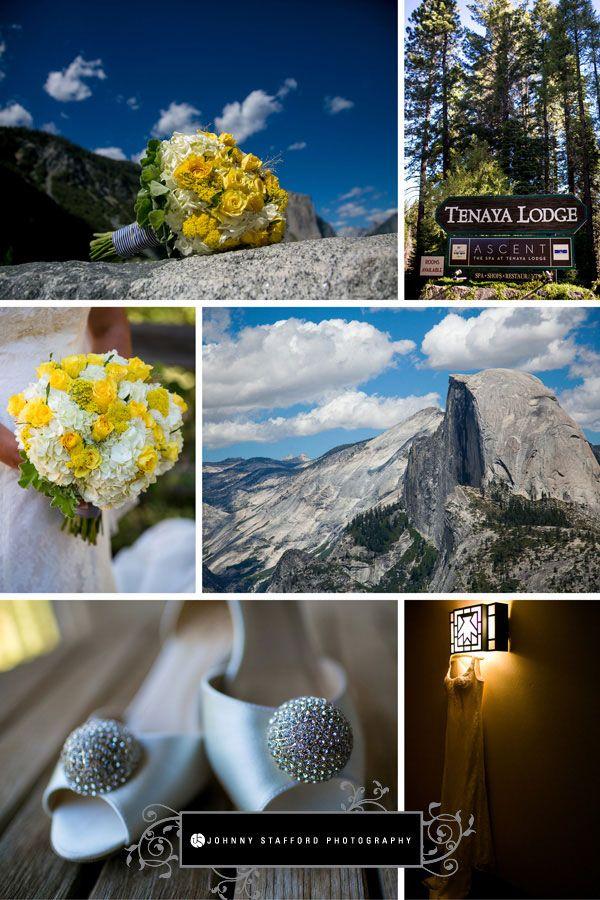Tenaya Lodge & Glacier Point Yosemite Wedding - www.johnnystaffordphotography.com - www.addyrosedesign.com - www.bellissimobrides.com