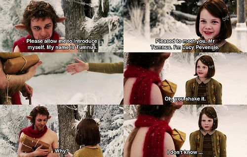 The Chronicles of Narnia - Pleased to meet you, Mr Tumnus