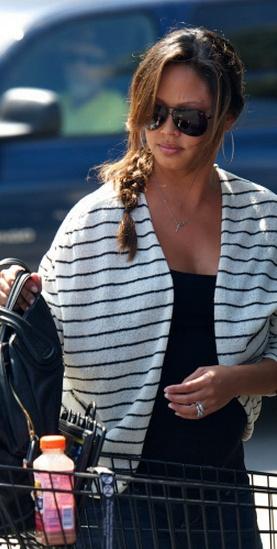 Vanessa Minnillo in ASTARS Nashville Jacket