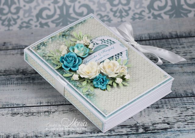 Wild Orchid Crafts: Card-book for wedding