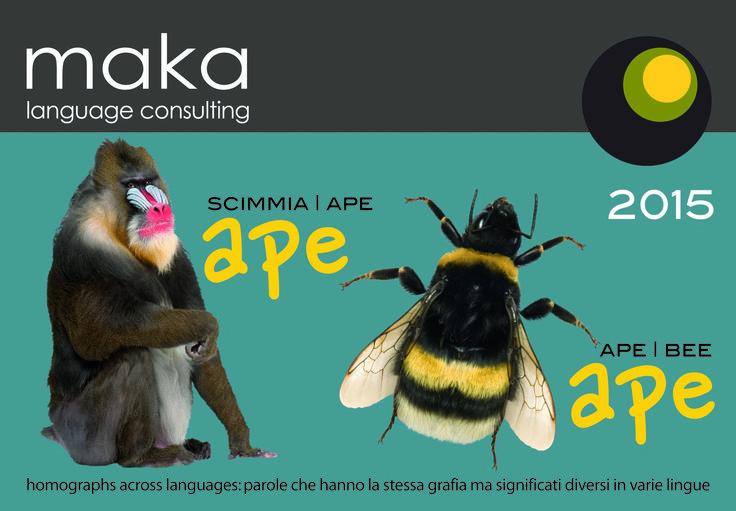 maka language consulting calendar cover 2015