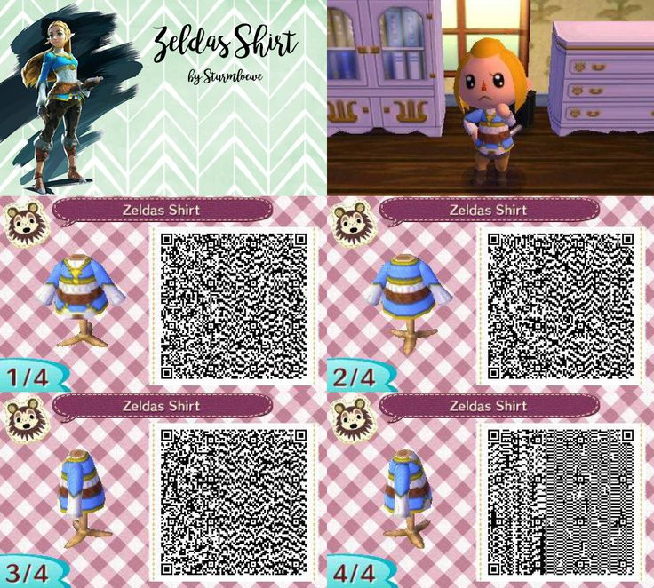 animal crossing new leaf qr code the legend of zelda ...