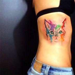 Tatuagens supercoloridas de animais para você se inspirar