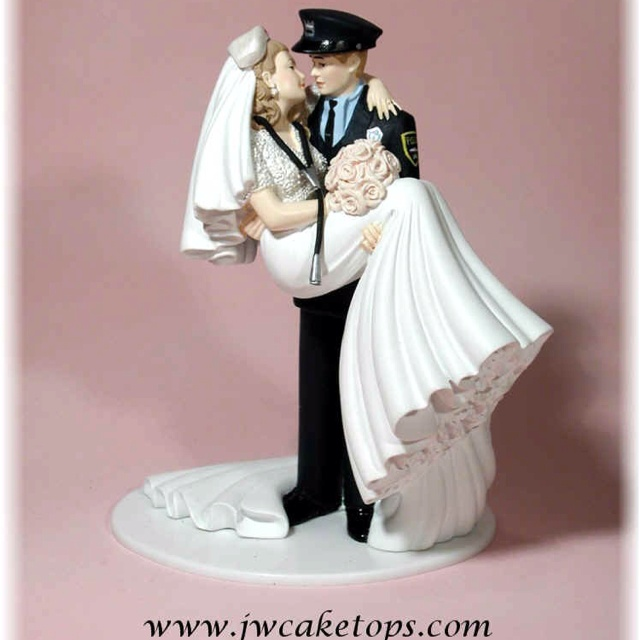 Nurse And Policeman Cake Topper So Cute Ideas For A