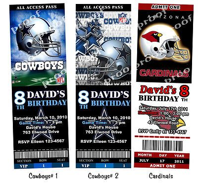 31 best images about Dallas cowboys party – Dallas Cowboys Party Invitations