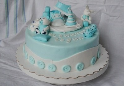 Baby 1 year By VsemTort on CakeCentral.com