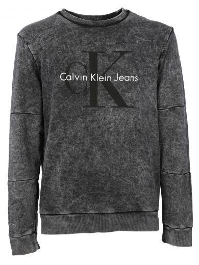 CALVIN KLEIN Calvin Klein Jeans Logo Print Sweatshirt. #calvinklein #cloth #fleeces-tracksuits
