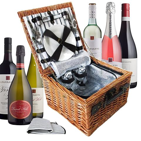 Angullong Picnic Basket Promotion... simply purchase wine to win!