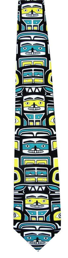 'Dream Weaver' Artist Design Silk Tie with Box