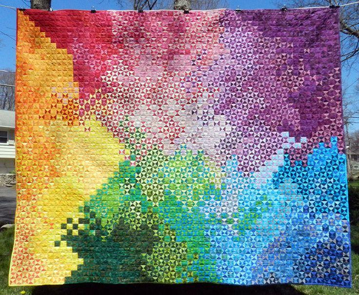 Blogger s quilt festival spring 2013 quilt 1 falling in love