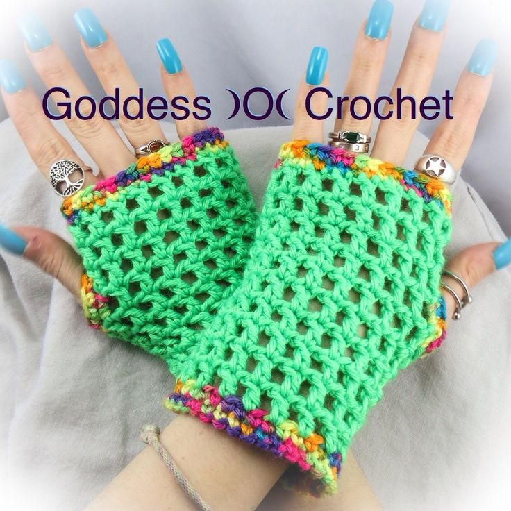 232 best crochet mitts gloves images on pinterest crochet gloves madonna inspired wristers a free crochet pattern from goddess o crochet dt1010fo