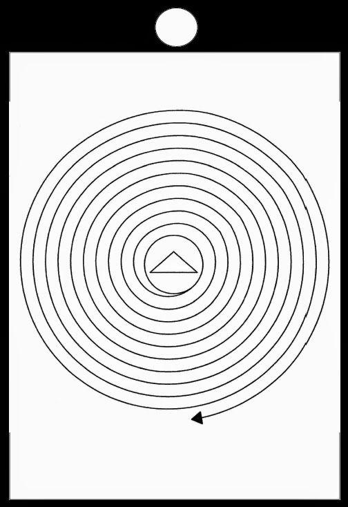 circuito grafico per la pulizia dell'aura