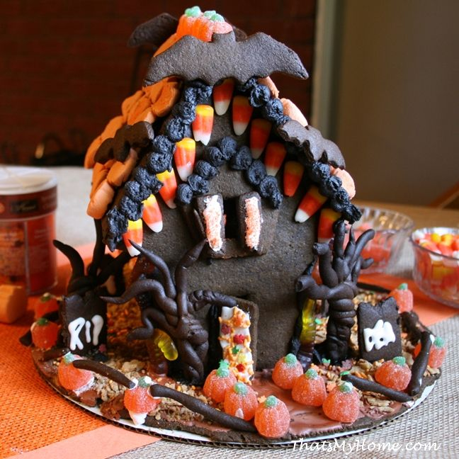 Halloween Gingerbread House | Recipe