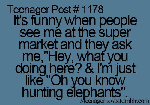 teenager posts | elephant-funny-quote-teenager-post-teenager-posts-Favim_com-302279 ...