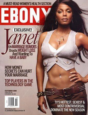 Janet Jackson - Ebony Magazine (October 2006)