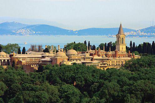 Topkapı Palace, Istanbul, Turkey, begun 1459