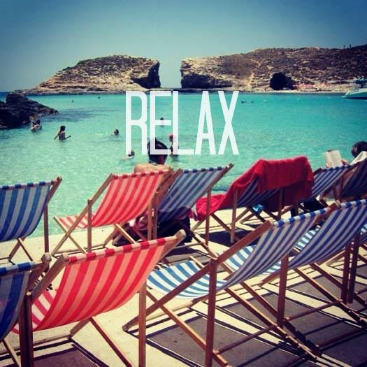 Relax but don't forget your sunscreen!