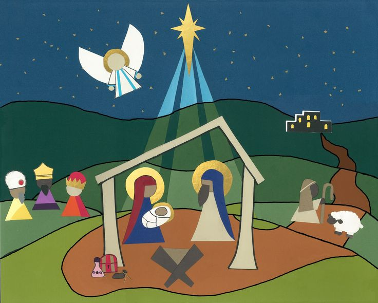 Papercut nativity, highlighted in Photoshop. I have mucho grande respect for people who do this professionally. It took hours to make this! #paper #nativity #Christmas For information about the advent app attached to this image: http://www.figtreechristian.org/upcoming-events1.html