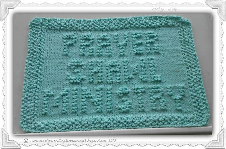 Prayer Shawl Ministry by Caylemandy | Knitting Pattern