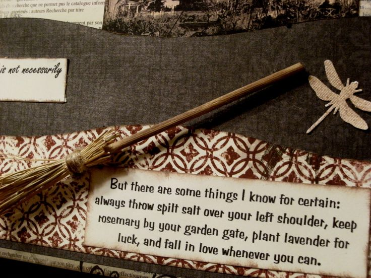 Quote from Practical Magic....love this some where for fall decor!....oh and i heart practical magic ;)