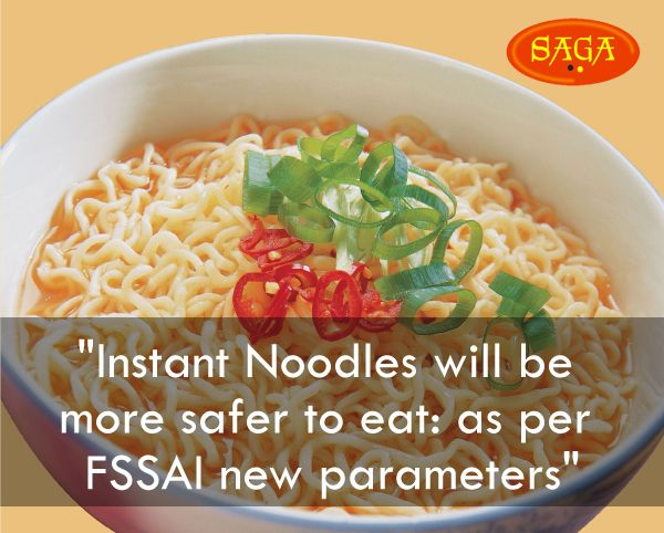 Saga Instant Noodles will be more safer to eat: as per FSSAI new parameters #tasty_food #Indian_food #instant_noodle_manufacturer #multigrain_noodles_manufacturer #instant_cuppo_noodles_manufacturer #cup_noodles_manufacturer http://www.mbgpaam.com/paam-eatable/index.php