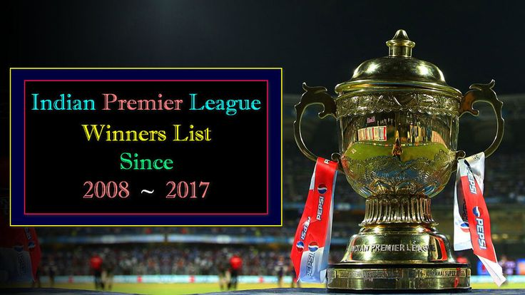 """Welcome to VidsWall Once Again…Today We are Sharing a Video About Information of IPL Winners. """"Indian Premier League"""" Mostly Known as IPL is the Premier Domestic T20 Cricket"""