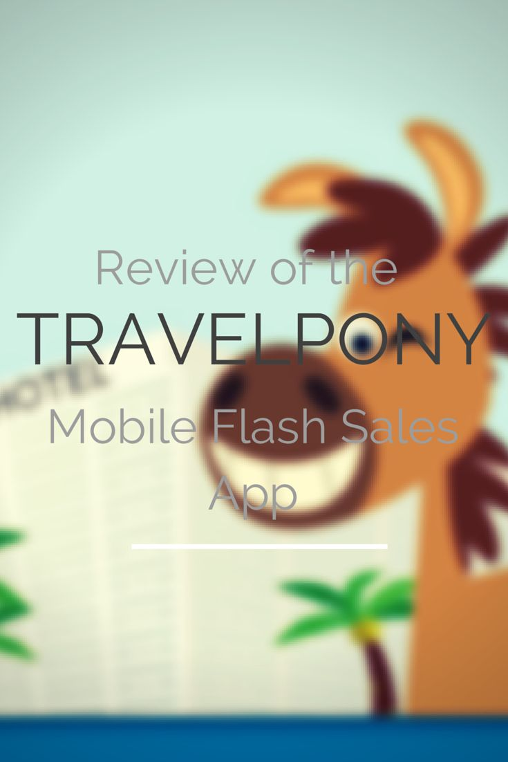TravelPony's new mobile app that focuses on daily flash sales could bag you a lot of savings for hotels.
