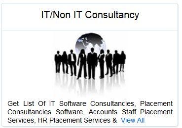 Get List Of IT Software Consultancies