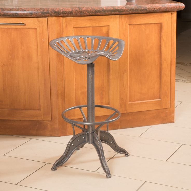 Christopher Knight Home Everly Grey Iron Barstool - Overstock Shopping - Great Deals on Christopher Knight Home Bar Stools
