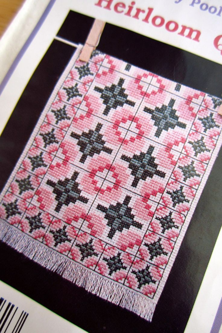 PATTERN: Lily Pool Heirloom Amish Quilt Counted by CSCDestash