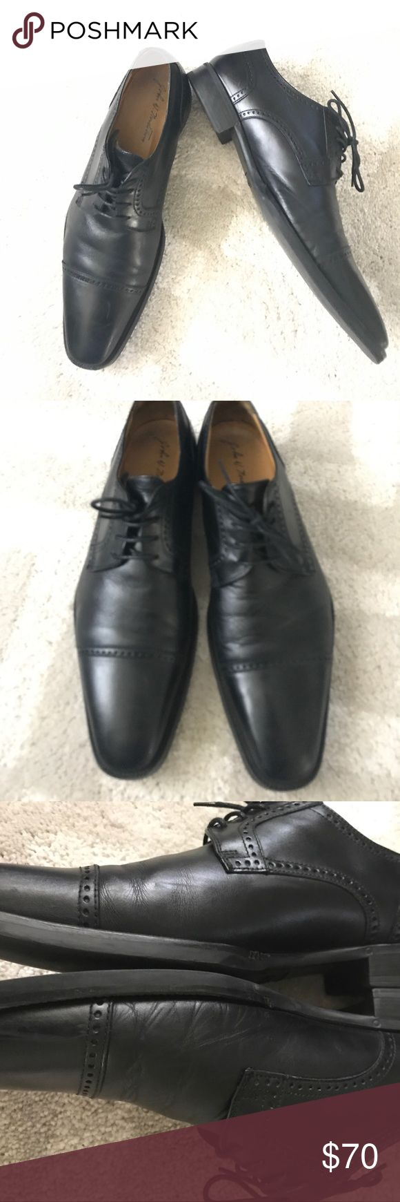 Men's Derby shoes 🚫🅿🅿🚫NO TRADES‼️Men's Nordstrom brand derby shoes. In great condition. Black color, minor scratches, and minor creasing. Upper leather rubber soles. No box John W. Nordstrom Shoes Oxfords & Derbys