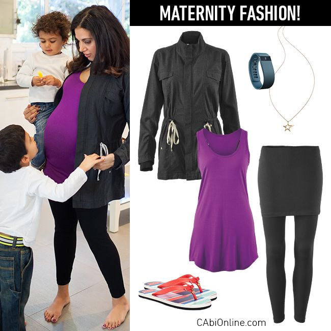 #CAbi - Maternity fashion with CAbi. See how our line works during your pregnancy.