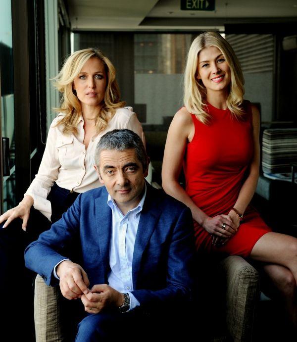 Gillian Anderson, Rowan Atkinson, Rosamund Pike