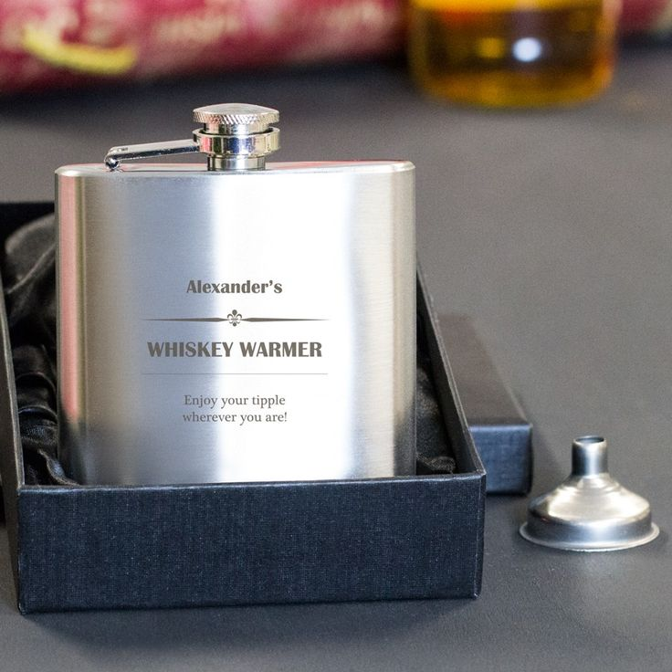 Personalised Hip Flask - Your Whiskey Warmer