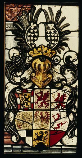 Wappen der Markgrafen von Brandenburg-Ansbach, Ansbach (Bayern), Stiftskirche, um 1523/27 [CC-BY 4.0]