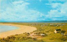 p1080 Dornoch Beach and Caravan Site, Sutherland, Scotland postcard