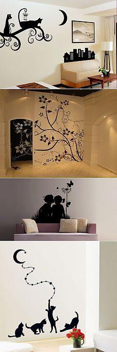 Трафареты для стен своими руками (фото) — www.veneso.ru