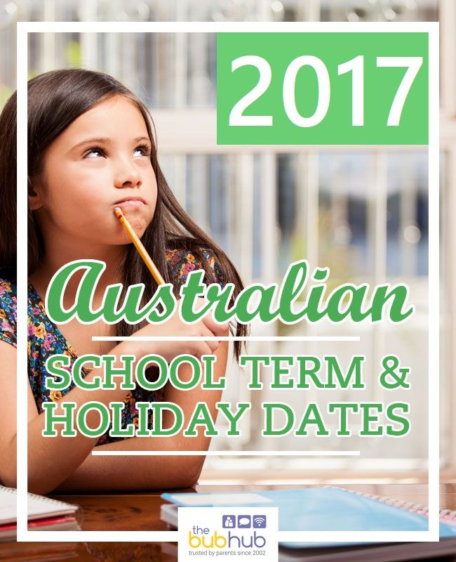 What are the school holiday dates and terms dates in your state? Check out our full list of school term dates for each Australian state and territory for 2017.