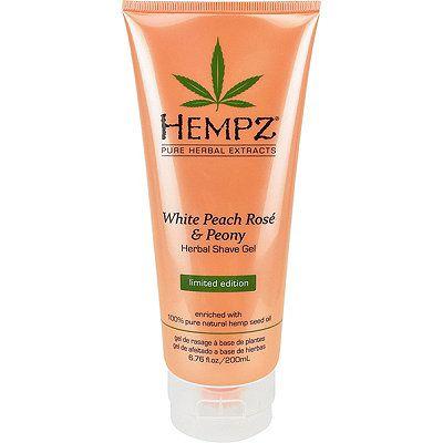 Hempz White Peach Rosé & Peony Herbal Shave Gel