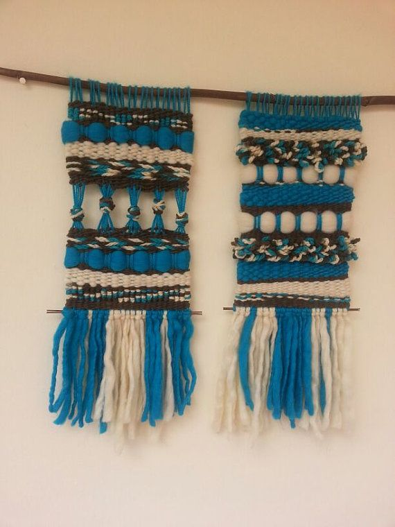 Hand Woven Wall Hanging by WovenHomeArt on Etsy, $200.00