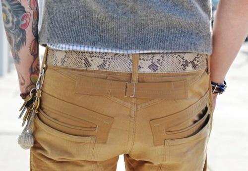 Cool pocket details