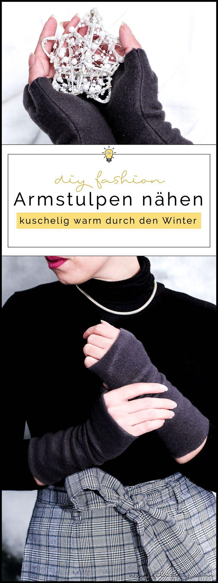 Armstulpen nähen - Winter-Accessoire und Geschenkidee zu Weihnachten | Filizity.com | DIY-Blog aus dem Rheinland #weihnachten #weihnachtsgeschenke #nähen