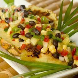 Tropische ananas en zwarte bonen salsa @ allrecipes.nl