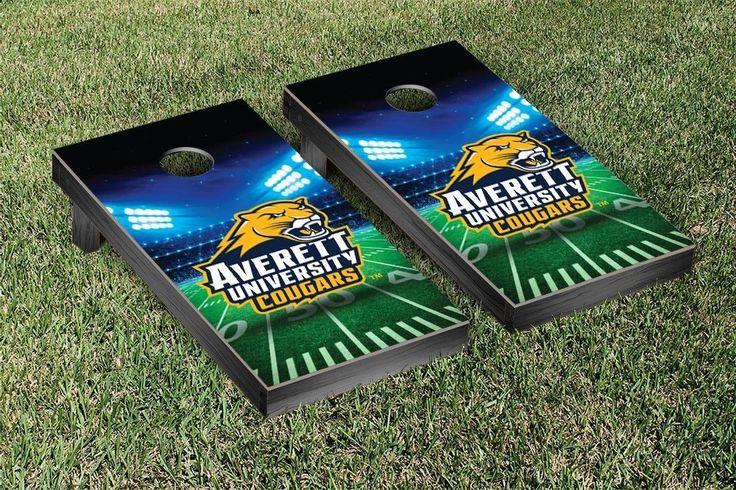 Cornhole Game Set - Averett University Cougars Stadium Version - 36032