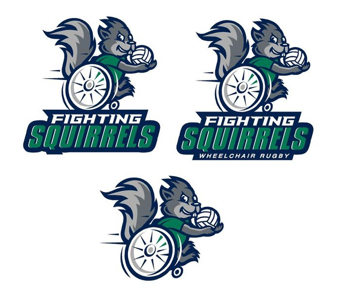 Create a great sports team logo for a Wheelchair Rugby Team by fs42158